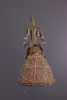 African art - Namchi Ritual Hat, Namji
