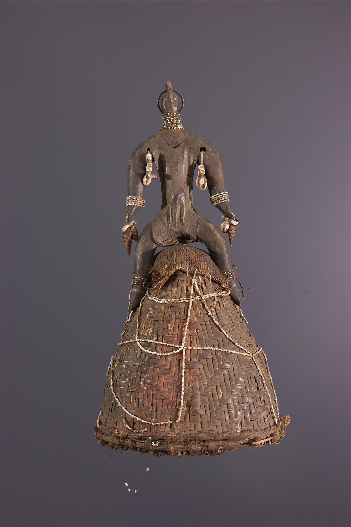 Namchi Headdress - African art