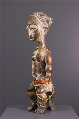Seated female figure Akye, Attica