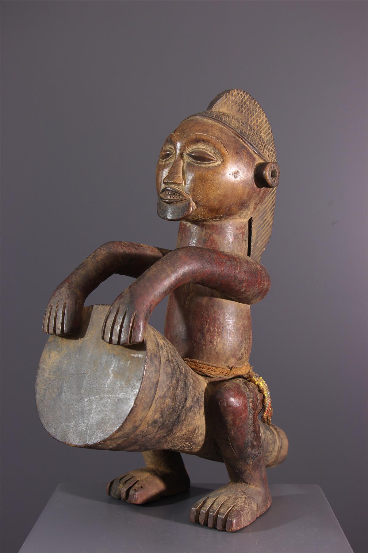 Mbala Statue - African art