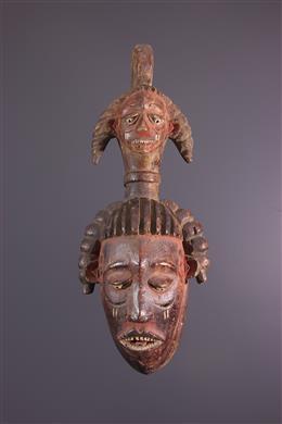 Masque facial  Anang Ibibio