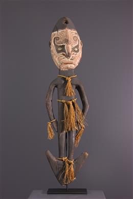 Sepik Figurative Suspension Hook