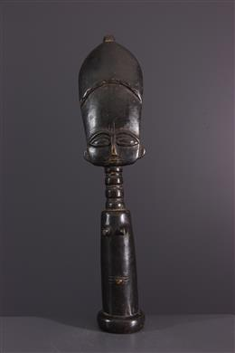 Statue fertility doll Akua  ba Fante