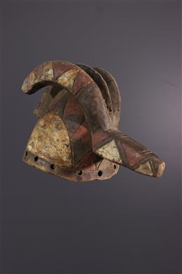 African art - Mossi helmet mask