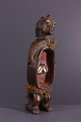 Gbene Koro double-cut statuette