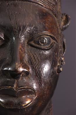 African art - Teite of Queen Benin Uhumnwun elao
