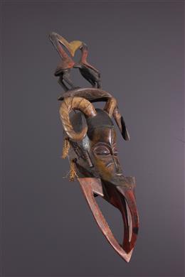 Zamblé Gouro Mask