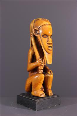 Statuette Beembe, Bembe, en ivoire