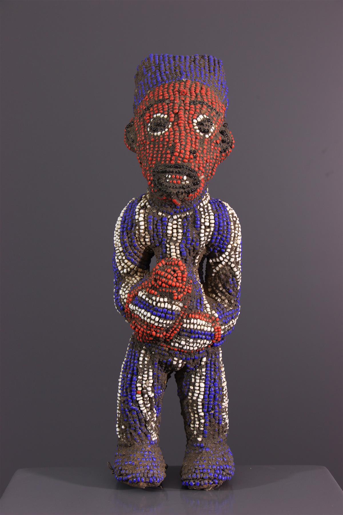 Bamoun statue - African art