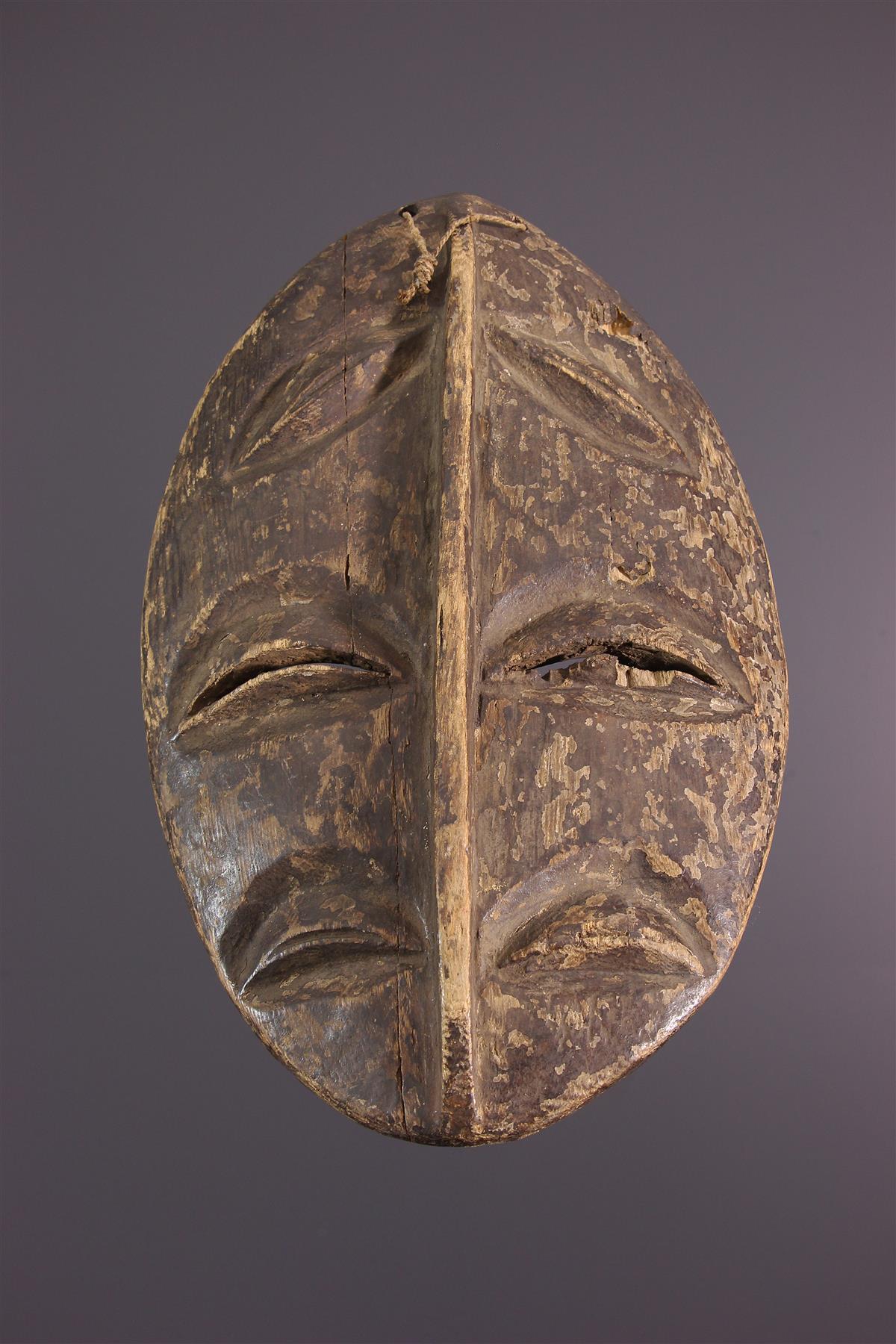Bakwele Mask - African art