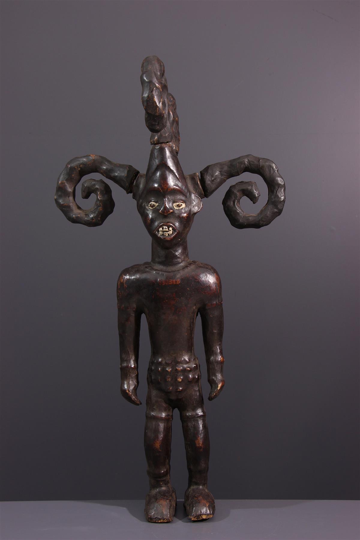 Statue Ejagham - African art