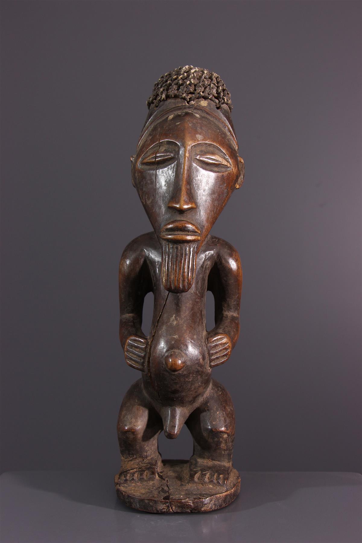 Statue Bassikassingo - African art