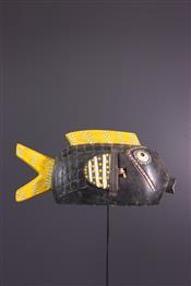 Masque africainBozo fish