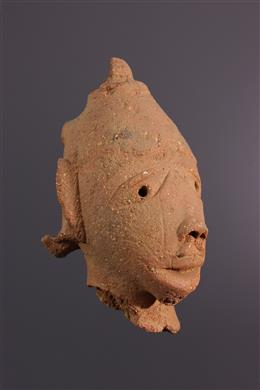 Nok head in terracotta