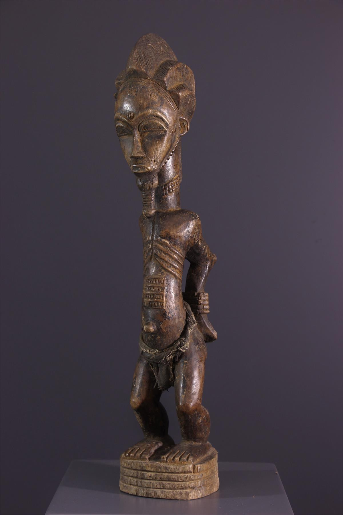 Statue Baule - African art