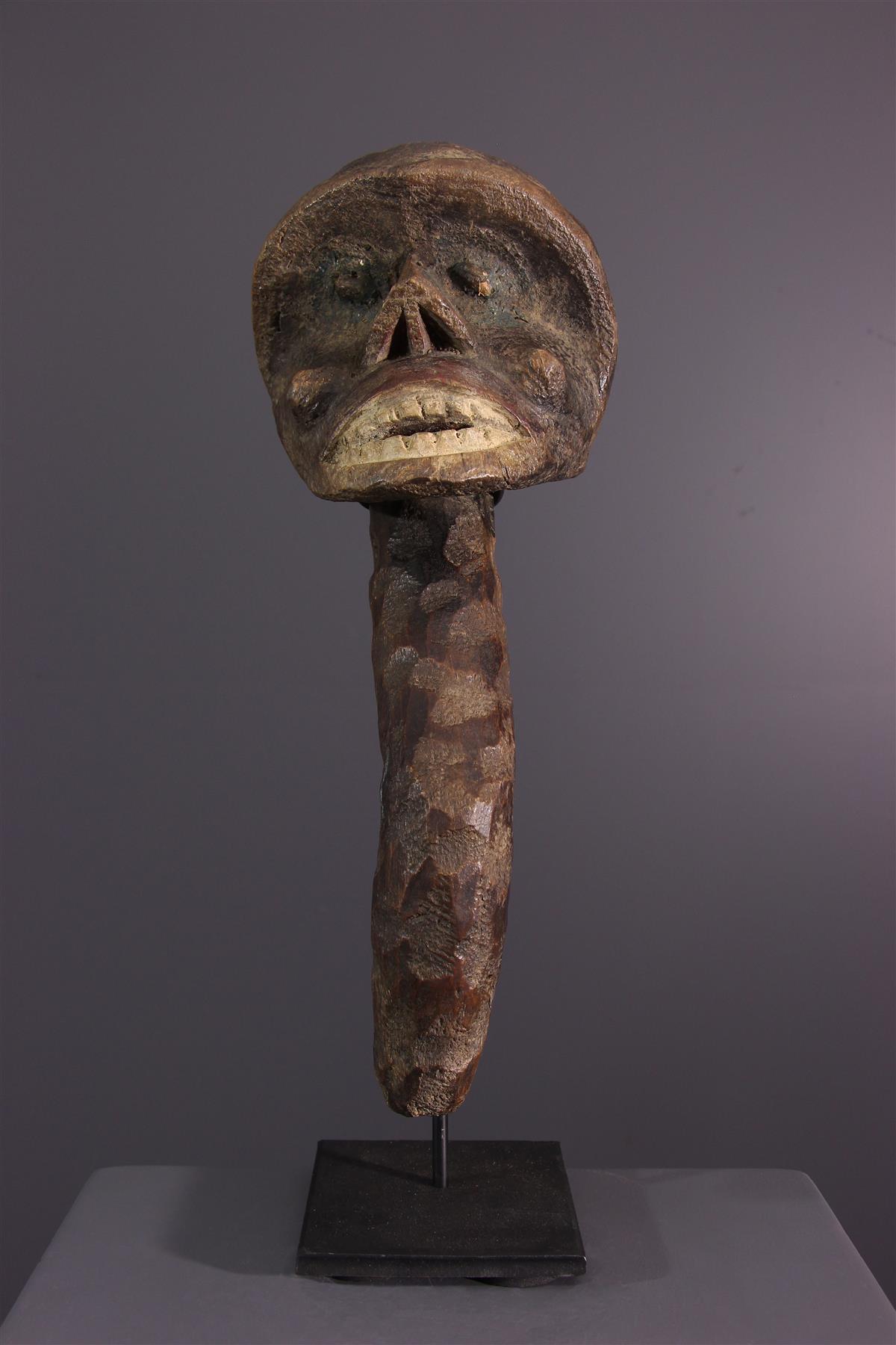 Head Boulou - African art