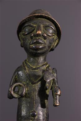 Figure Benin in bronze