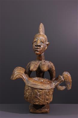 Olumèye Yoruba Cutting Carrier