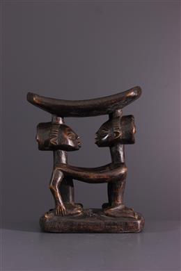 African art - Luba Headrest