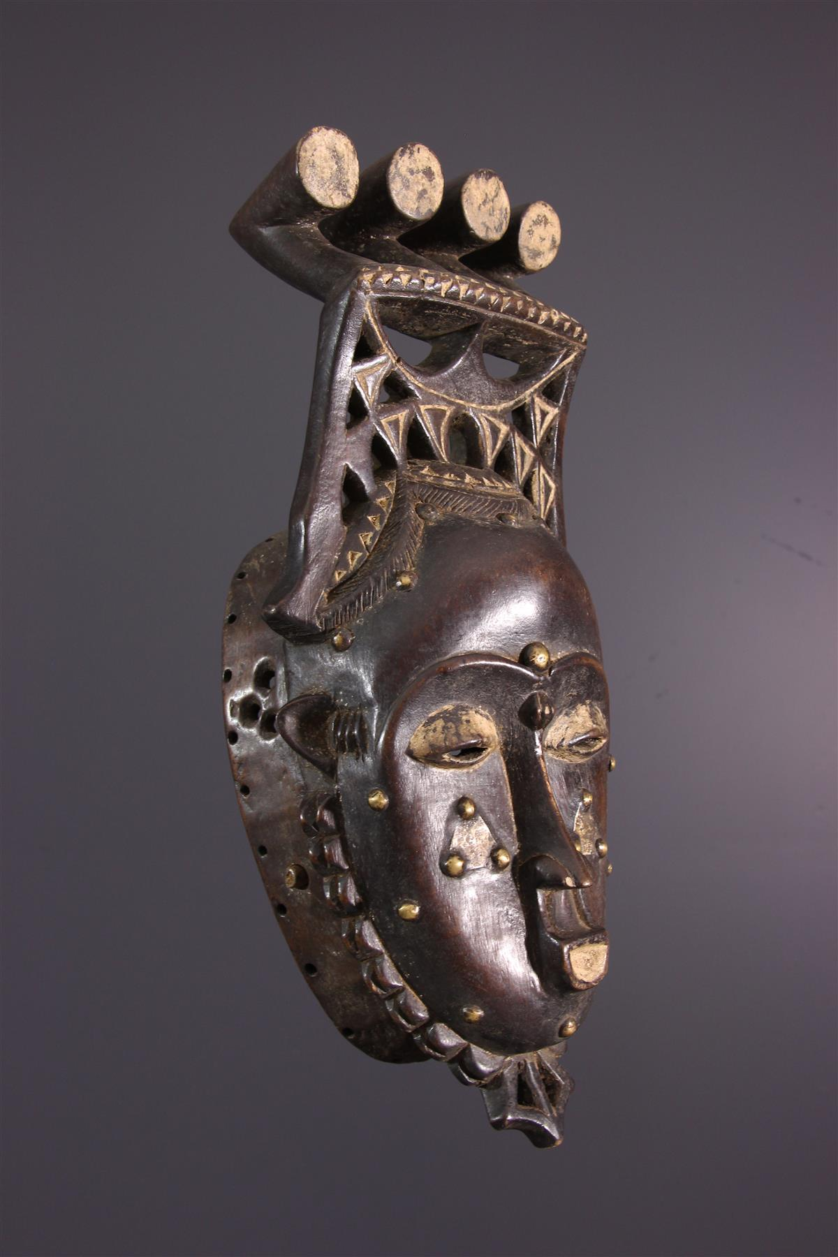 Yaouré Mask - African art