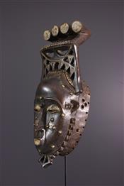 Masque africainYaouré Mask