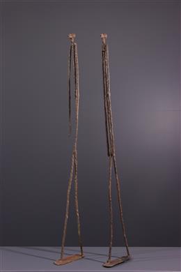 Primary couple Dogon in bronze