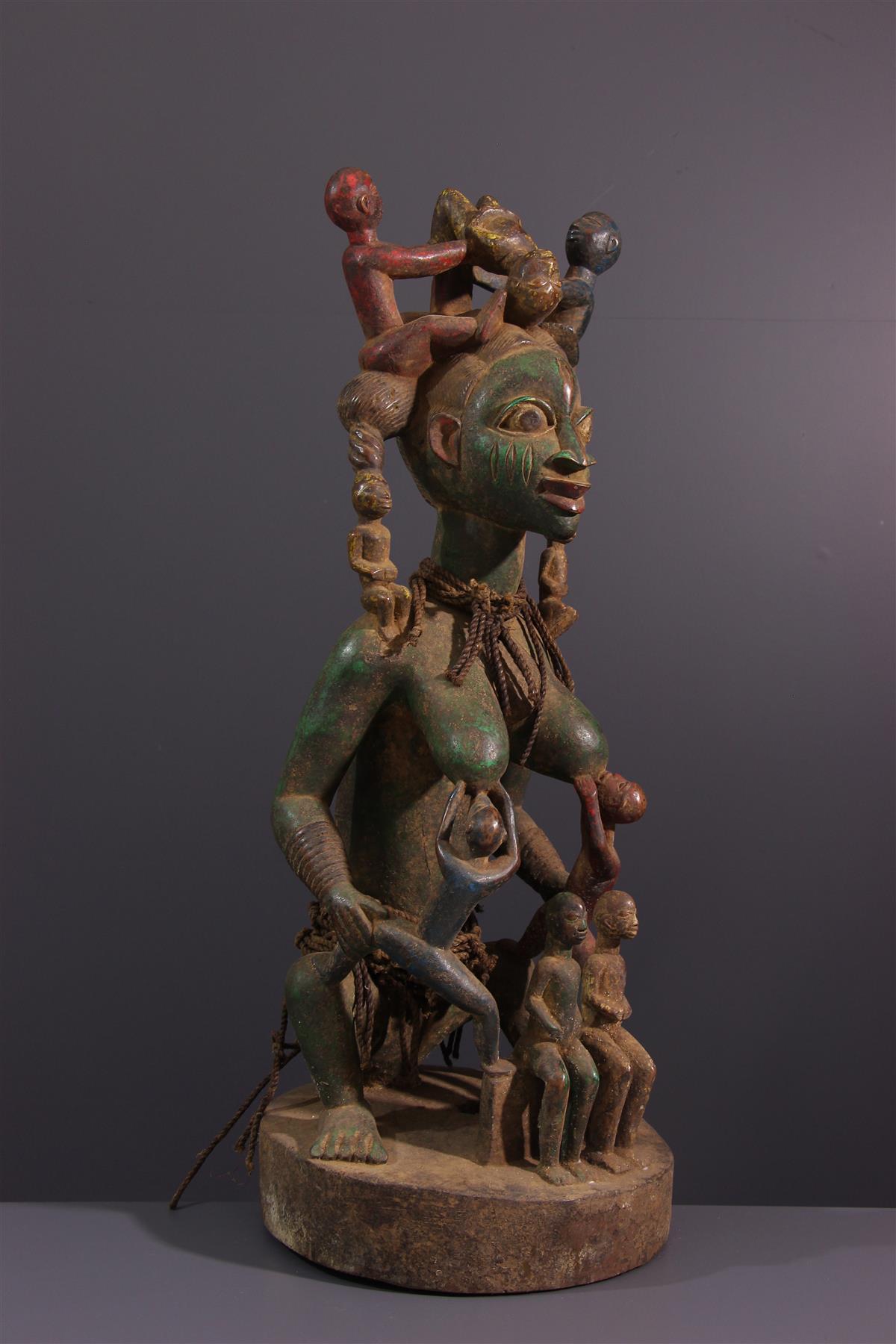Yoruba Maternity - African art