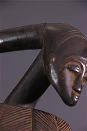 Masque africainBaoulé Mask