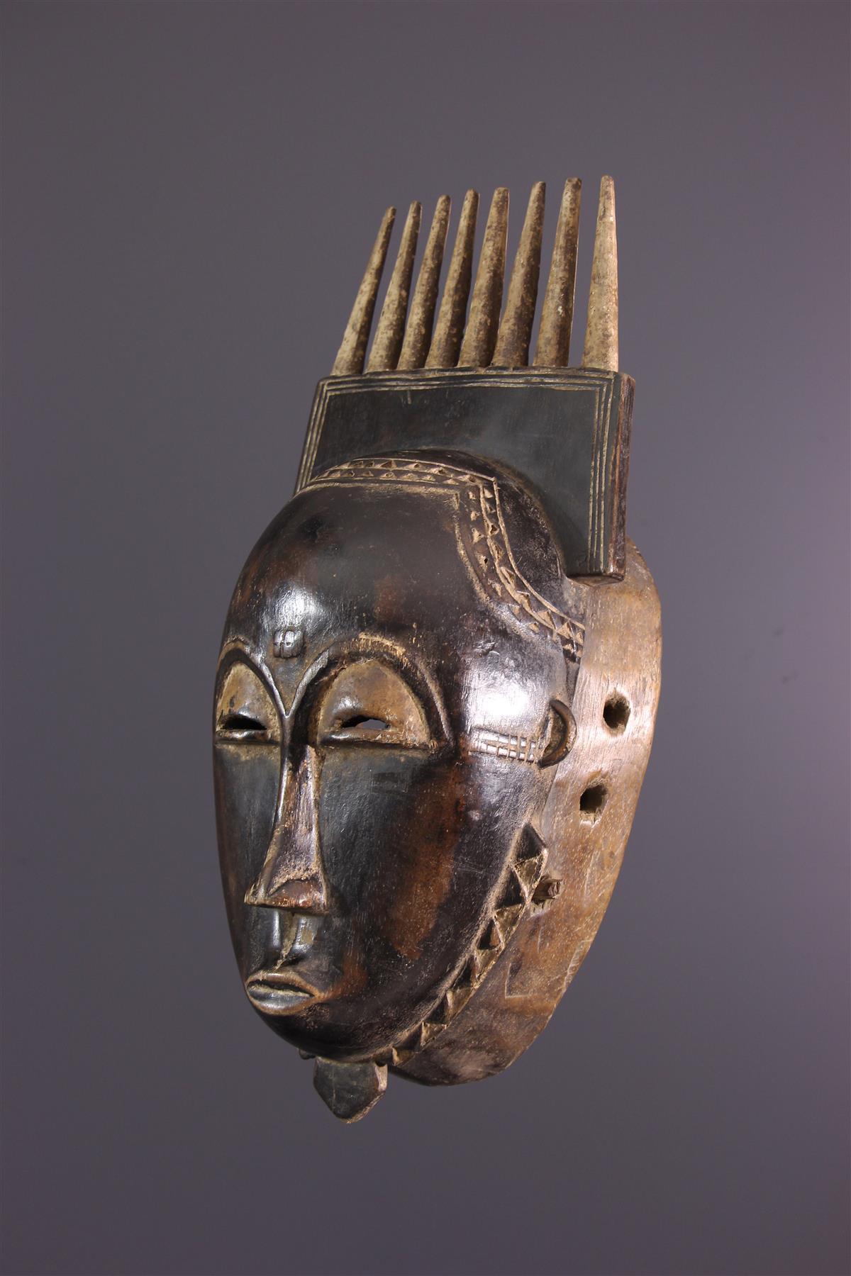 Baoule Mask - African art
