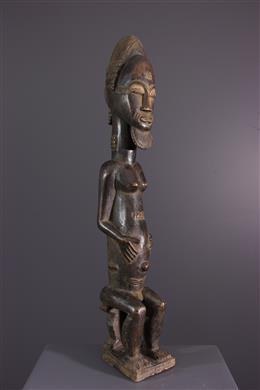 Statue Baule Asia usu
