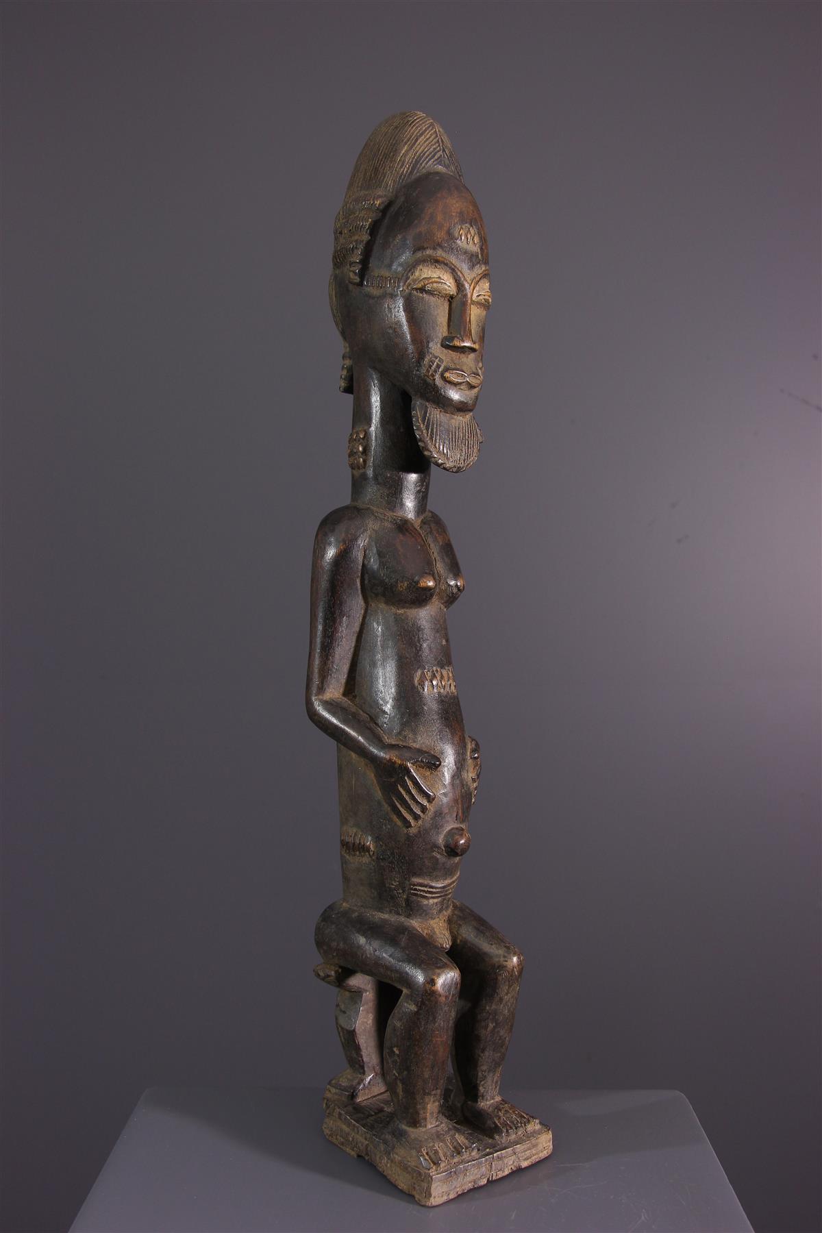 Ancestor Baoulé - African art