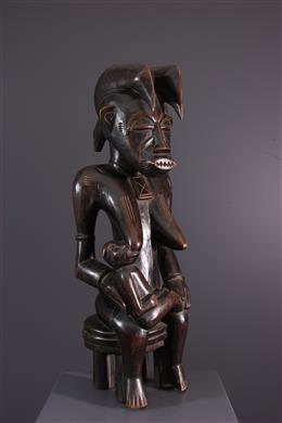 African art - Senoufo Maternity Figure