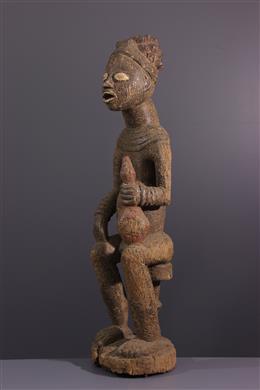 Royal ancestor figure Bangwa
