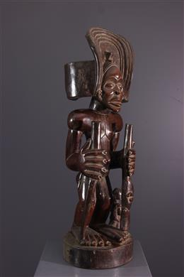 African art - Chief Figure Chokwe