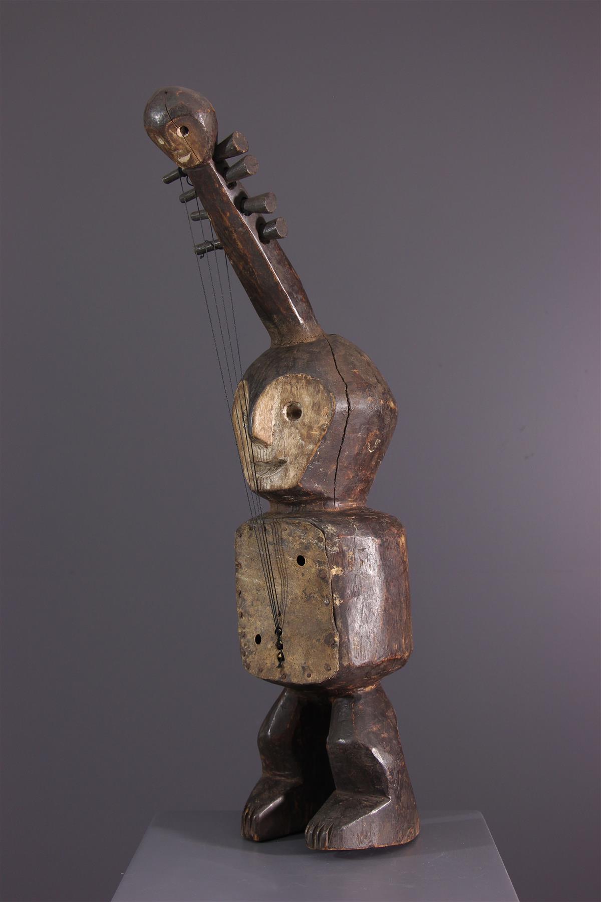 Lega Guitar - African art