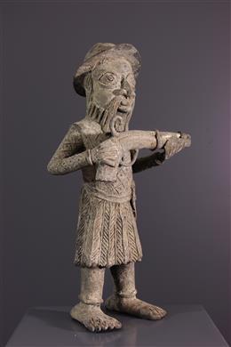 Figure of Portuguese soldier Benin