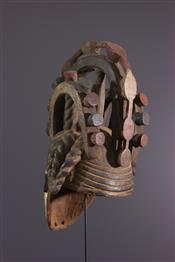 Masque africainIgbo Crest