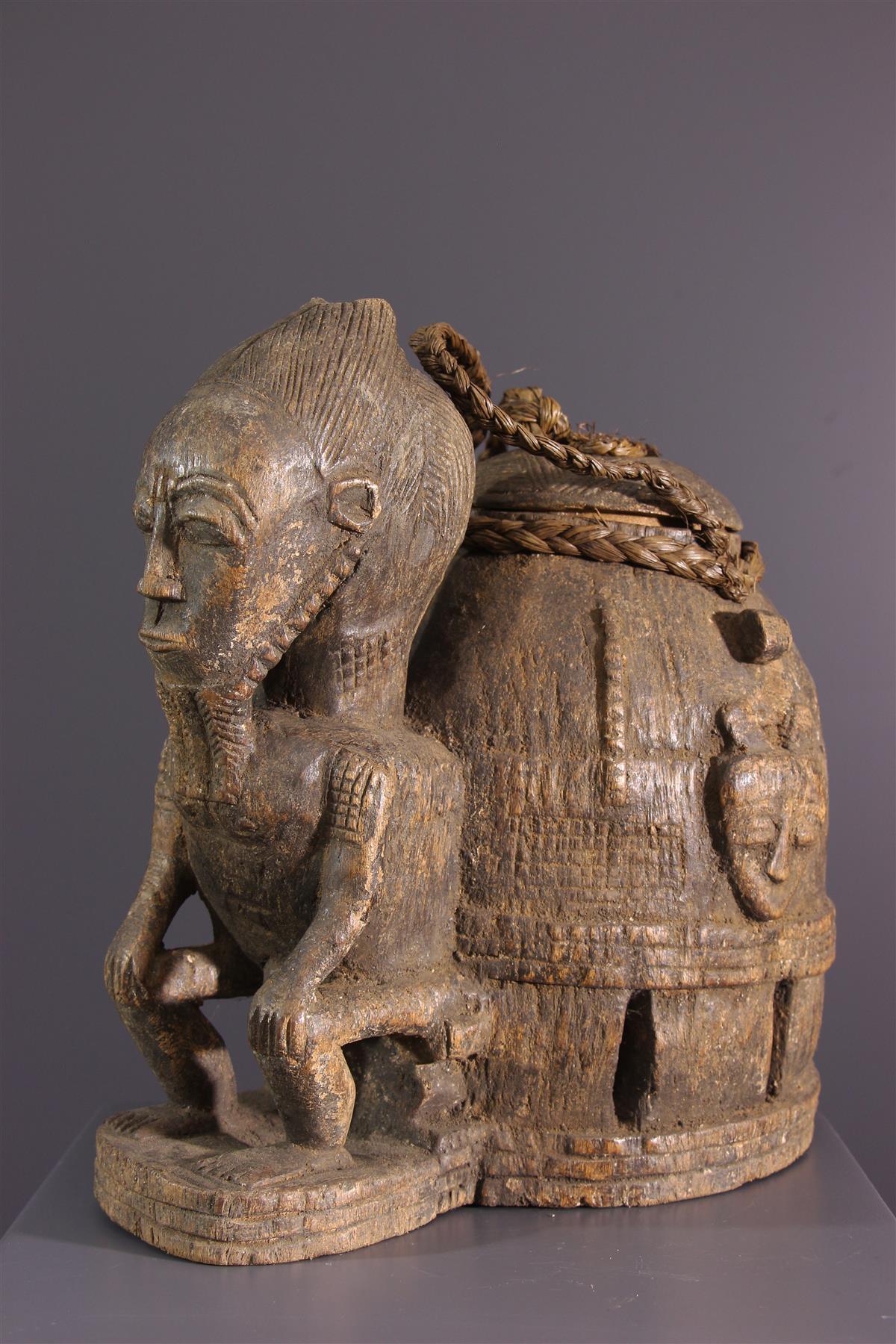 Baoulé box - African art