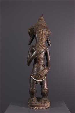 Ancestor statue Baule Asia usu