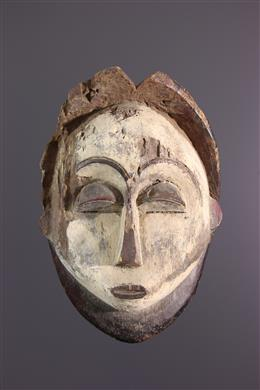 Tsogho ancestor mask, Vuvi