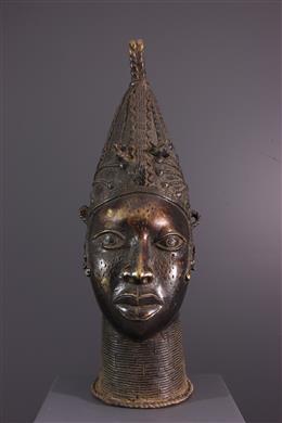 African art - Head Queen Mother Benin Uhumnwun elao