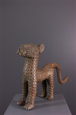 Benin leopard figure