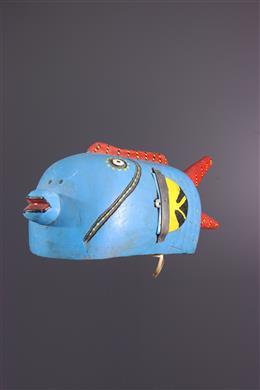 Bozo fish mask