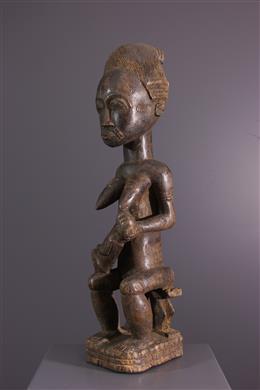 Maternity figure Asye usu Baule