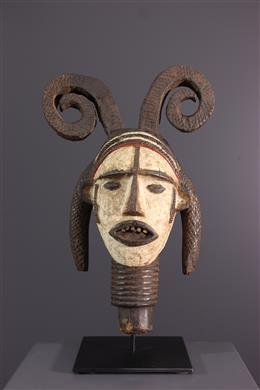African art - Idoma dance crest