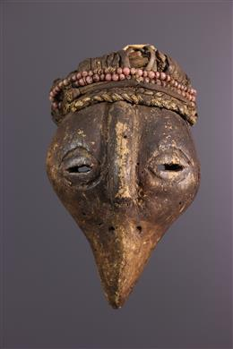 African art - Small holo zoomorphic mask