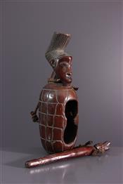 Instruments de musique, harpes, djembe Tam TamMangbetu Drum