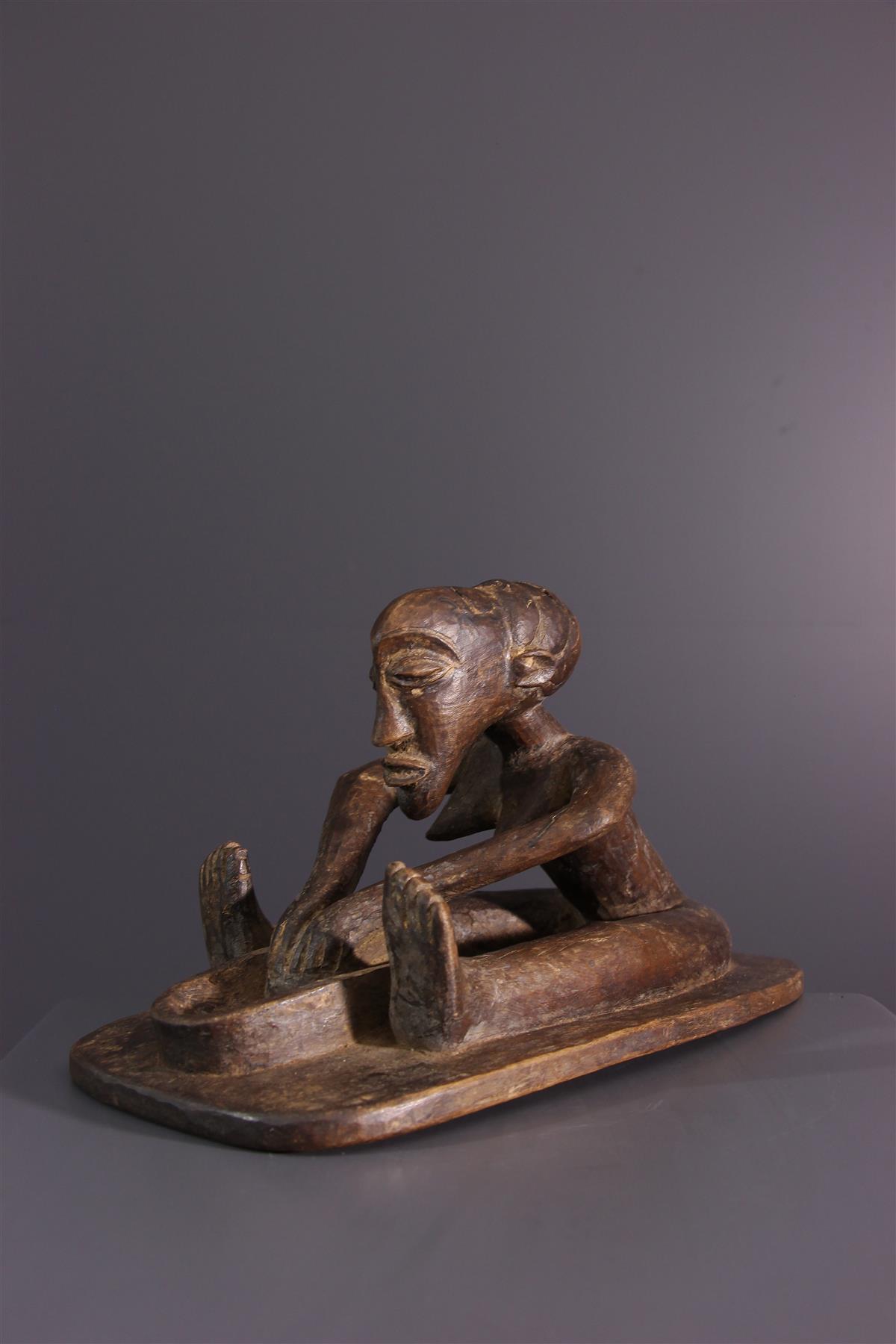 Luba statue - African art