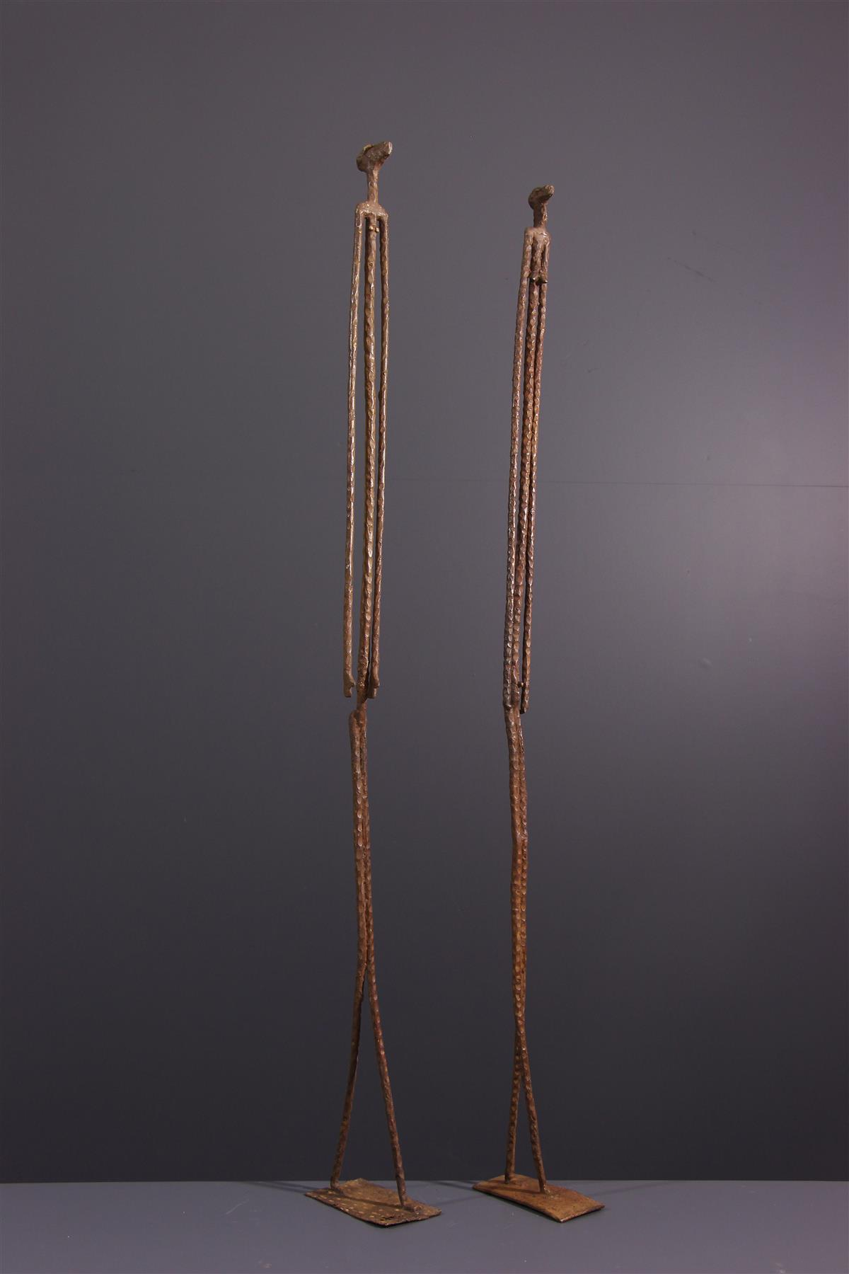Dogon figures - African art