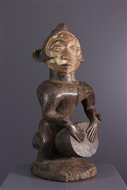 Nkanu Drummer Statue